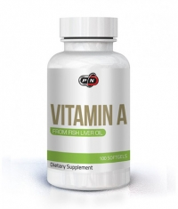 PURE NUTRITION Vitamin A 10,000IU / 100 Softg.