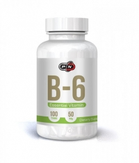 PURE NUTRITION Vitamin B-6 (Pyridoxine) 50mg. / 100 Tabs