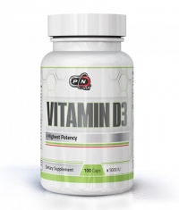 PURE NUTRITION Vitamin D3 5000IU / 100 Caps