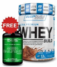 PROMO STACK Whey and Vits 1+1 FREE Stack