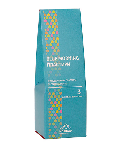NORDAID Blue Morning Patches x 3 pieces