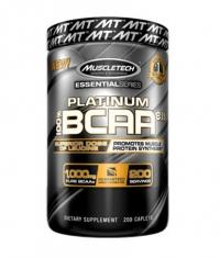 MUSCLETECH Platinum BCAA 8:1:1 / 200 Caps
