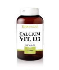 DIET FOOD Calcium + Vitamin D3 / 120 Caps