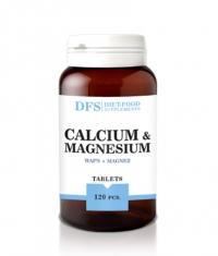 DIET FOOD Calcium + Magnesium / 120 Caps