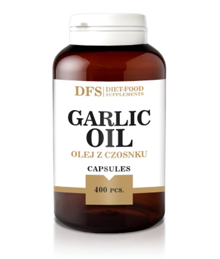 DIET FOOD Garlic Oil 300mg. / 400 Caps