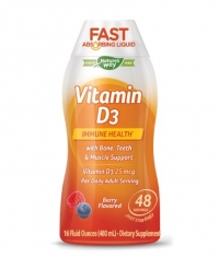 NATURES WAY Vitamin D3 Liquid / 480ml