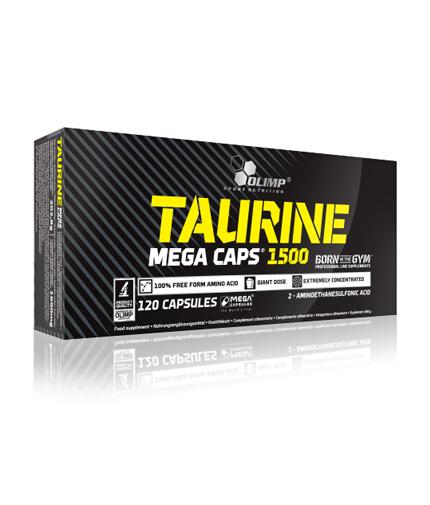 OLIMP Taurine Mega Caps 1500 mg. / 120 caps.