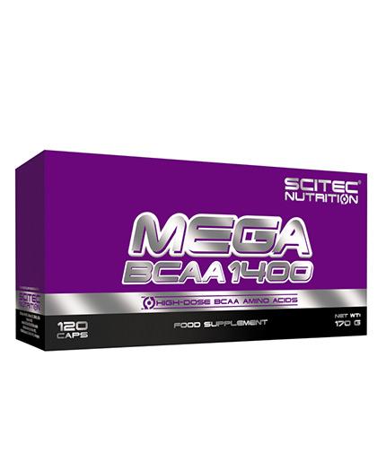 SCITEC Mega BCAA 1400 / 120 Caps.