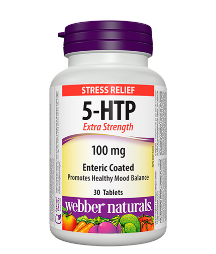 WEBBER NATURALS 5-HTP 100mg. / 30 Tabs