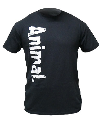 UNIVERSAL ANIMAL Black T-Shirt