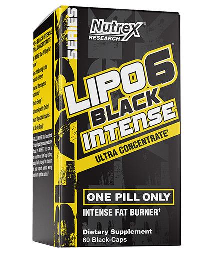 NUTREX Lipo 6 Black Intense / 60 Caps