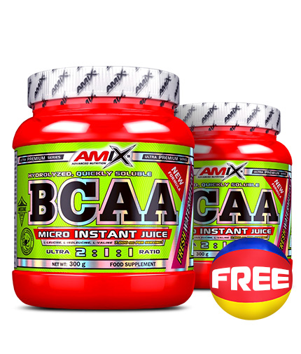 PROMO STACK BCAA MICRO INSTANT 1+1 FREE