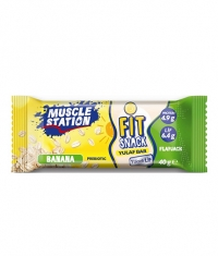 MUSCLE STATION Fit Snack Banana