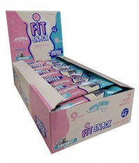 MUSCLE STATION Fit Snack Coconut Box 24x40g