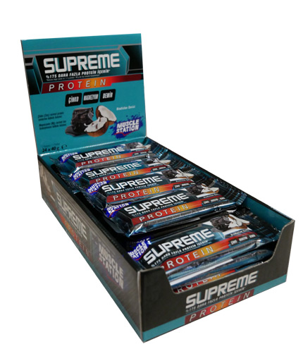 MUSCLE STATION Supreme Coconut Box 24x40g