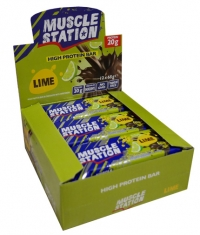 MUSCLE STATION Lime Box 12x65g