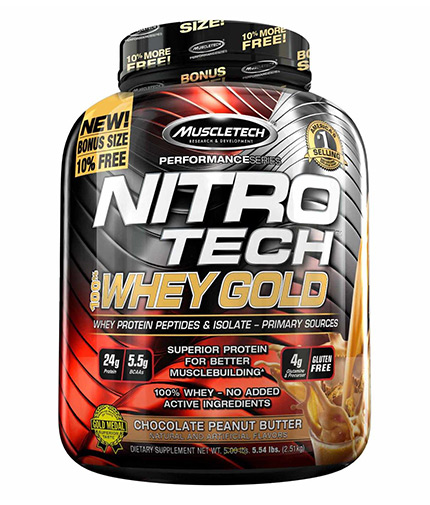 MUSCLETECH NitroTech Whey Gold Performance
