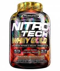 MUSCLETECH NitroTech Whey Gold Performance 5lb