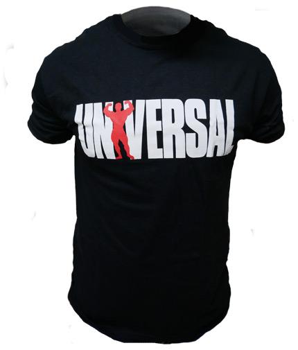 UNIVERSAL T-shirt '77 Black