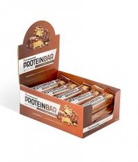 NUTRAMINO Protein Bar Box Chunky Peanut & Caramel 12x60g