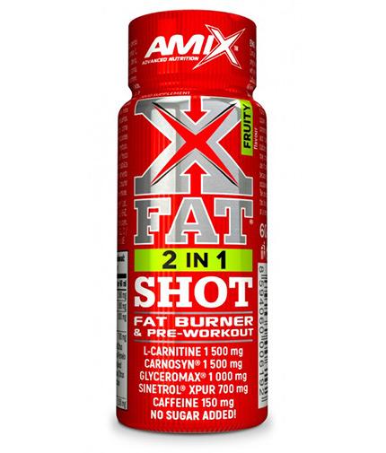 AMIX XFat 2in1 SHOT / 60ml