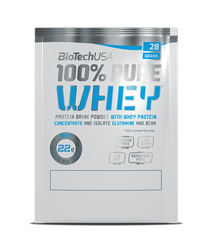 BIOTECH USA 100% Pure Whey Sachet / 28g