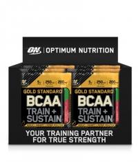 OPTIMUM NUTRITION Gold Standard BCAA Train + Sustain Box / 24x19g