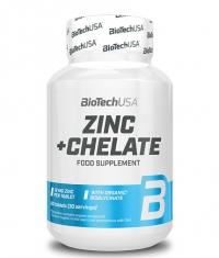 BIOTECH USA Zinc + Chelate / 60 Tabs
