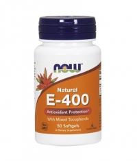 NOW Vitamin E-400 IU / 50 Softgels