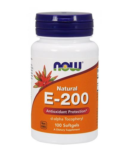 NOW Vitamin E-200 IU D-Alpha / 100 Softgels