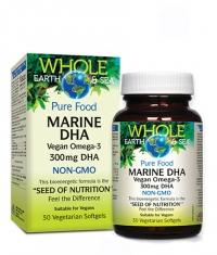 NATURAL FACTORS Marine DHA Vegan omega-3 300mg / 30 Softgels