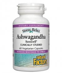 NATURAL FACTORS Ashwagandha 250mg / 60 Vcaps