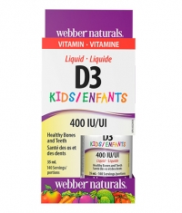 WEBBER NATURALS Liquid Vitamin D3 for Kids / 35ml