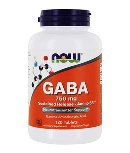 NOW GABA 750mg / 120 Tabs