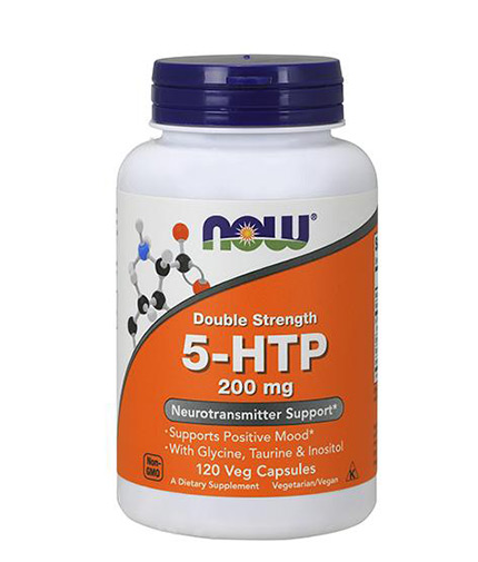 NOW 5-HTP 200mg / 120 Vcaps