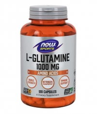 NOW Sports L-Glutamine 1000mg / 120 Caps