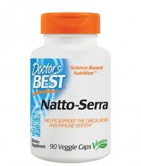 DOCTOR'S BEST Natto-Serra / 90 Vcaps