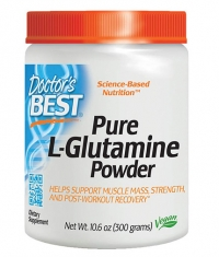 DOCTOR'S BEST Pure L-Glutamine Powder