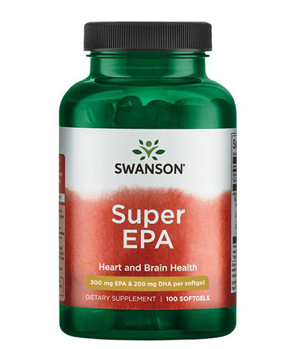 SWANSON Super EPA / 100 Softgels
