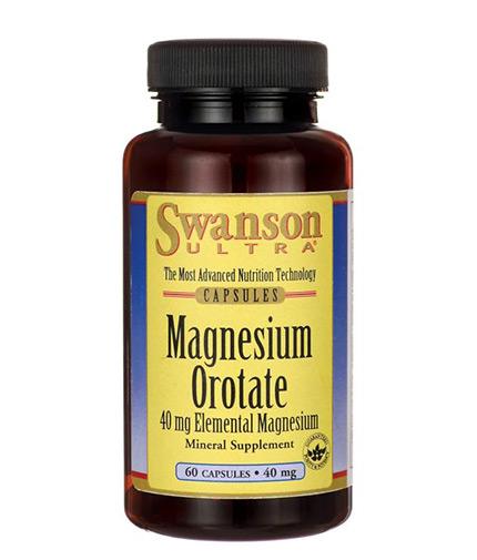 SWANSON Magnesium Orotate / 60 Caps