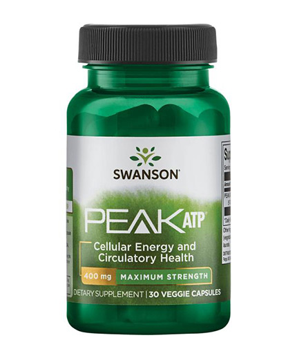 SWANSON Peak ATP - Maximum Strength / 30 Vcaps