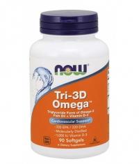 NOW Tri-3D Omega / 90 Softgels