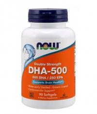 NOW DHA 500 mg / 90 Softgels