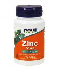 NOW Zinc Gluconate 50mg / 100 Tabs
