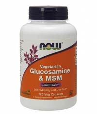 NOW Vegetarian Glucosamine & MSM / 120 Vcaps