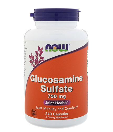 NOW Glucosamine Sulfate 750mg / 240 Caps