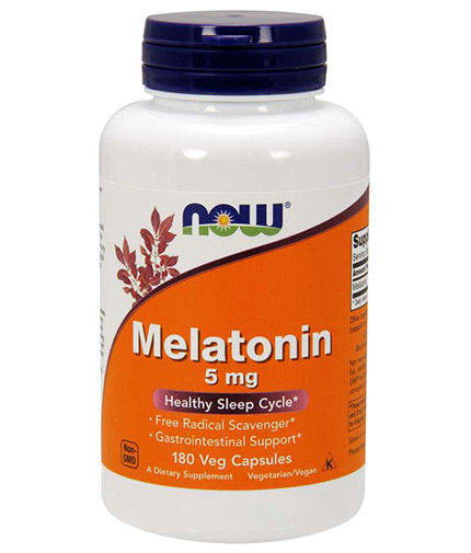 NOW Melatonin 5mg / 180 Vcaps
