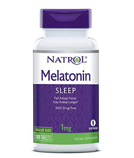 NATROL Melatonin 1mg / 180 Tabs