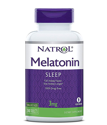 NATROL Melatonin 3mg / 240 Tabs