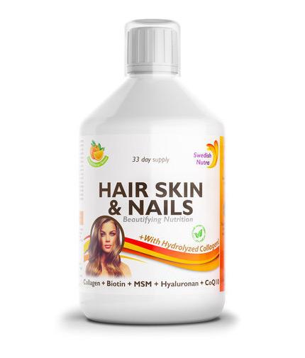 SWEDISH NUTRA Hair, Skin and Nails / 500ml